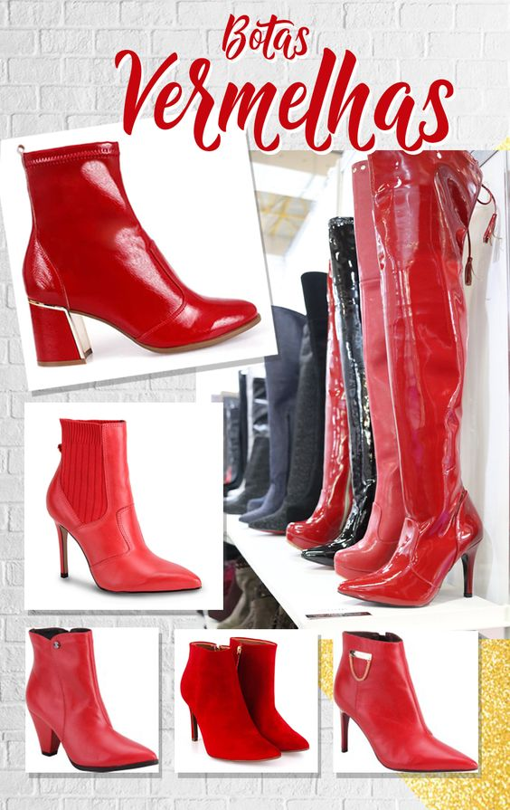 bota vermelha 3